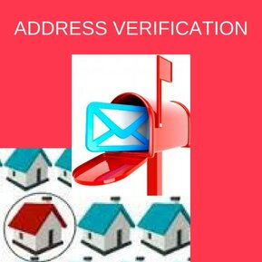 Address Verification, Verify Address Data