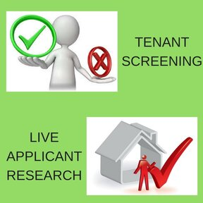 Tenant Screening, Background Checks